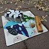 Mini Table Rug - Crystal Witch (Tarot Seed) Tags: sewing fabric tarot sacredspace
