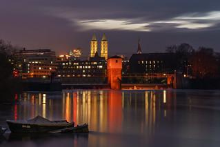 City lights Kassel