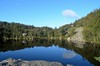 Hike to Preikestoken (suttree140782) Tags: norwegen norway scandinavia photography preikestolen outdoor nature natur mirror spiegelbild reflection lake mountain lysefjord nikon d5100