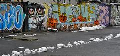 street art wall (rafasmm) Tags: lodz łódź poland polska europe art street streetphoto streetart streetlife graffiti color citycenter center wall paint outdoor nikon d90 nikkor 50 18 afd