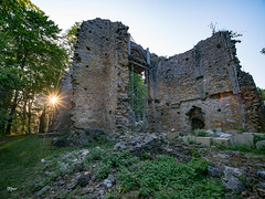 Ruins of the Pálos monastery, Bükkszentlélek - A Pálos monostor romjai (un2112) Tags: bükkszentlélek laowa laowa75mm hungary pálos monostor ruins rom monastery g80 august evening sundown sunset