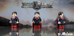 Superman - Justice League (McLovin1309) Tags: superman man steel dc dceu justice league clark kent bvs batman vs comic comics is it bird plane no its red blue gold custom lego minifigure minifig fig figure figures minifigures