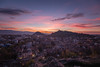 Cityscape (blooddrainer) Tags: cityscape sky sunset nature winter plovdiv bulgaria