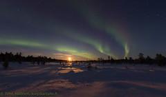 Menesjarvi 5.12.2017 2 (Hotel Korpikartano) Tags: korpikartanofi auroraborealis aurora northernlights laplandfinland lappi revontulet inarilapland menesjarvi