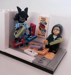 Make Lego Not War! (valeolligio) Tags: collectable minifigures collectableminifigures peace love set vip models son daddy garmadon lloyd ninjago 2017 lego tlnm