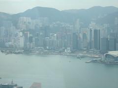 IMG_0595 (Sweet One) Tags: icc sky100 observationdeck view city skyline buildings towers hongkong harbour
