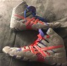 Dan Gable Ultimate wrestling shoes Sz 6.5 (feelmyrathbun) Tags: tags og rare kolat teals nike asics adidas rulon