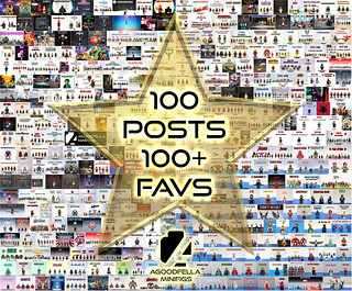 100 Posts with 100+ Faves! 🎉🎇️