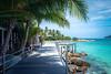 Batu Batu wooden pontoon (Benoit Rossignol) Tags: malaysia tengah island pulau batubatu resort dream wooden pontoon
