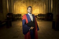 Portrait of an Oxford Graduate (Sheng P.) Tags: portrait zeiss zeiss35mf14 distagontfe1435 oxford oxfordshire scholar phd graduate school hogwarts divinity harrypotter manportrait sony a7 gown uk england