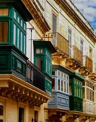 Balconies (Siuloon) Tags: balconies architektura architecture architettura valletta malta lines linia balkone gebäude fassade building window canon