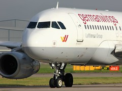 D-AGWT (AnDyMHoLdEn) Tags: germanwings lufthansagroup a319 egcc airport manchester manchesterairport 23l