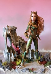 Mera (MaxxieJames) Tags: mera aquaman justice league barbie doll collector dc dcu amber heard queen atlantis barbies mattel dolls