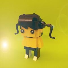 #lego #brickheadz  #legomocs #mocs #レゴ #primaryschool  #littlegirl (Rokan Cheung) Tags: レゴ brickheadz primaryschool littlegirl lego legomocs mocs