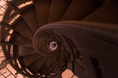 Iron stairs (michael_hamburg69) Tags: panker kreisplön schleswigholstein germany deutschland ostsee hessenstein tower turm treppe iron stairs wendeltreppe hessenturm