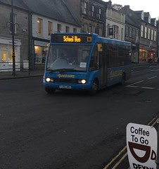 Travelsure Optare Solo YJ05XMS (Daniely buses) Tags: schoolbus optare yj05xms optaresolo travelsure