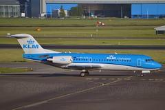 KLM Cityhopper PH-KZD Fokker F70 cn/11582 wfu 05 Feb 17 @ EHAM / AMS 05-06-2016 (Nabil Molinari Photography) Tags: klm cityhopper phkzd fokker f70 cn11582 wfu 05 feb 17 eham ams 05062016