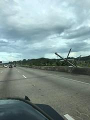 Roadside energy infrastructure damage, Nov. 15