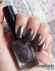 Esmalte Marte, da Jequiti.  Coleção Aviva Futurista. (A Garota Esmaltada) Tags: agarotaesmaltada unhas esmaltes nails nailpolish manicure marte jequiti aviva avivafuturista