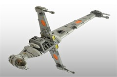 B-wing (1) (Inthert) Tags: lego b wing bomber star wars starfighter moc ship rebel blade gina moonsong ten numb snot squadron quarrie alliance fleet asf01 slayn korpil