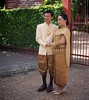 Phnom Penh street scenes: Wedding couple outside the National Museum (HardieBoys) Tags: phnompenh cambodia nompen camboya asia