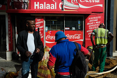 Cape Town Afternoon (BrianEden) Tags: travelphotographer color street coke fujifilm xpro2 southafrica travelphotography travel streetphotography fuji za capetown men cocacola westerncape