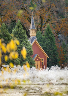 Frosty Morning at the Chapel