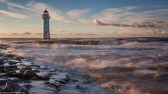 Perch Rock Lighthouse (andyyoung37) Tags: merseyside newbrighton perchrocklighthouse uk sunset wallasey england unitedkingdom gb