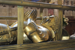 Richard Beauchamp, 13th Earl of Warwick (big_jeff_leo) Tags: warwick church england architecture noble crypt stone medieval efegy chapel