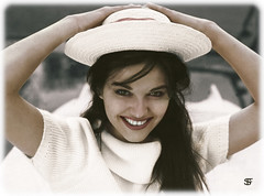 Claudia Cardinale 1938 - age 79 (oneredsf1) Tags: actress colorized italian cardinale claudia sexsymbol coloured