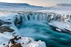 Godafoss (Einar Schioth) Tags: godafoss goðafoss river rocks rock winter water waterfall day sky snow sun shore canon clouds cloud coast cliff canyon nationalgeographic ngc nature mountains mountain skjalfandafljot landscape lake photo picture outdoor iceland ísland ice einarschioth