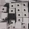 Steinstapel (zeh.hah.es.) Tags: stein steine nacht night grau gray grey zurich zürich schweiz switzerland schwarz black schatten shadow loch hole baustelle construction constructionsite kreis5