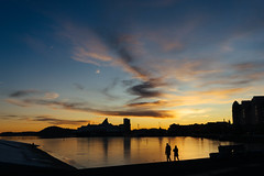 A wide Sunset at Opera (Rico Lopes) Tags: wideangle sky sunset photography landscape norway oslo