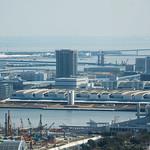 Aerial view of Toyosu Market (豊洲新市場)