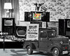 """The Old Pizitz Department Store In Birmingham, Alabama USA (crimsontideguy-from """"Sweet Home Alabama"""" USA) Tags: birminghamalabama alabama store history vintage truck dodge 1946 yesteryear photoshop compilation layers textures tv rca"""