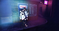 open (aarontj90) Tags: open couple secondlife avatar walk fashion hipster cool jesus beard