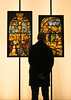 Considering Creation (Vide Cor Meum Images) Tags: mac010665yahoocouk markcoleman markandrewcoleman videcormeumimages vide cor meum nikon d750 nikkor28300 museum art religion religious silhouette silhouettes illuminated va victoria albert jesus stained glass iconography