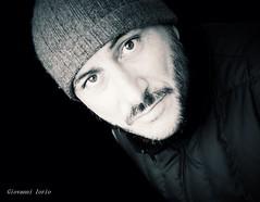 13 dicembre (ioriogiovanni10) Tags: face monotone monocromatico biancoenero bianconero blackandwhite eyes nikon selfie me io