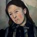 CEZANNE,1885-86 - Portrait de Madame Cézanne, profil gauche (Philadelphie) - Detail 03