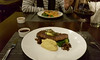 Steak and mash (Roving I) Tags: steak mashedpotatoes danang dining domwinebistro sauces redwine nightlife lifestyle vietnam