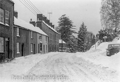 Gloucester Street (Maintained by Matthew Bigwood) Tags: briancandy wottonunderedge monochrome 35mm film snow 1963 gloucestershire briancandyphotographicarchive