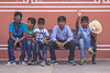 Boys on a bench (AndMakeItSnappy) Tags: india rajasthan jaipur thepinkcity boys portrait