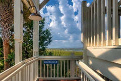 heaven's_gate (gerhil) Tags: travel architecture building restaurant cafe outdoor southern coastal entryway porch view scenic autumn september2017 nikcolorefexpro4 shadows patterns 1001nights 1001nightsmagiccity