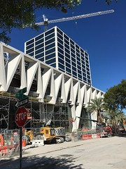 MiamiCentral Brightline All Aboard Florida Station Construction (Phillip Pessar) Tags: miamicentral all aboard florida construction downtown miami brightline fec east coast railway train station building architecture industries