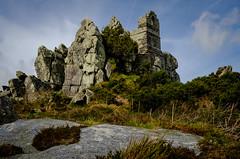 Roche Rock (Rogpow) Tags: cornwall roche rocherock granite tourmaline quartz chapel stmichael hermit cell folklore old