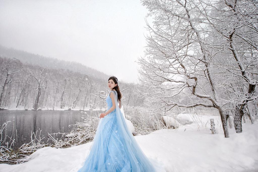 北海道婚紗,富良野婚紗拍攝