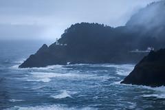 Heceta Head Lighthouse (L.L..) Tags: oregon coast pacific ocean lighthouse landscape canon telephoto canon70200f28lll