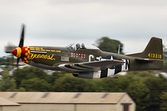 P51 Mustang - RIAT 2017 (Airwolfhound) Tags: p51 mustang riat fairford frenesi