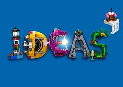 Ideas_Logo_FINAL (brickbloke77) Tags: lego ideas logo ldd render rendering redshift