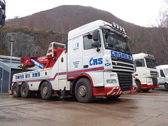 DAF XF - Chisholms (Unimog1300L) Tags: chisholmsrecoveryspecialists cr51tow boniface ballachulish